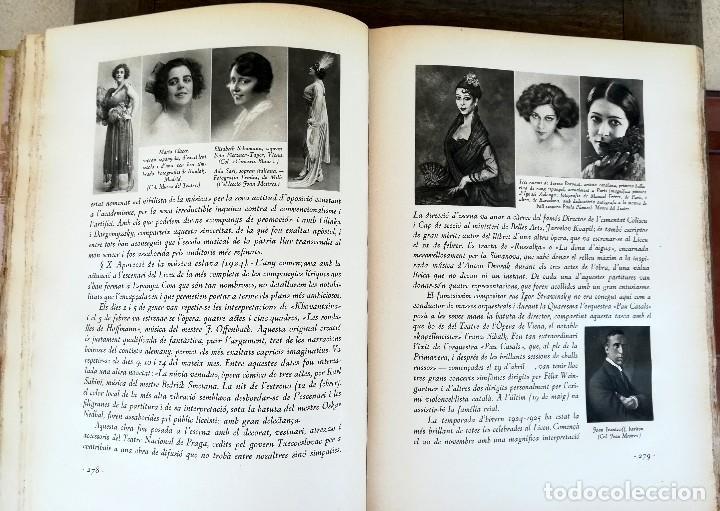 Libros antiguos: LIBRO EL GRAN TEATRO DEL LICEO DE BARCELONA 1837-1930,MEDALLA EMPERADOR NAPOLEON BONAPARTE,PERGAMINO - Foto 15 - 101207151