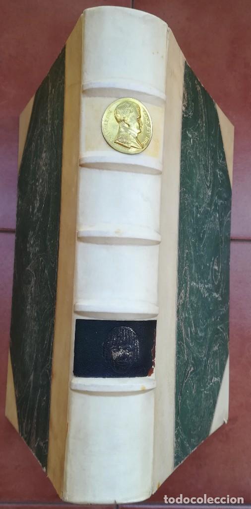 Libros antiguos: LIBRO EL GRAN TEATRO DEL LICEO DE BARCELONA 1837-1930,MEDALLA EMPERADOR NAPOLEON BONAPARTE,PERGAMINO - Foto 20 - 101207151
