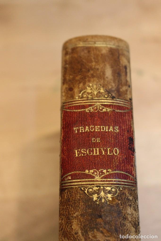 LAS SIETE TRAGEDIAS DE ESCHYLO, 1880. 1º EDICIÓN (Libros antiguos (hasta 1936), raros y curiosos - Literatura - Teatro)