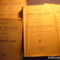 Libros antiguos: CALDERON DE LA BARCA: - COMEDIAS (4 TOMOS) -. (MADRID, 1932). Lote 103210983