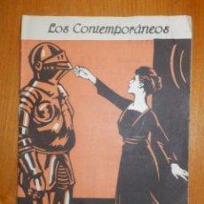 Libros antiguos: LOS CONTEMPORANEOS - LA MUJER DE LOTH - DRAMA 3 ACTOS DE EUGENIO SELLES - Nº 558 - AÑO 1919. Lote 104654139