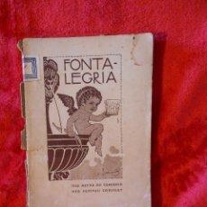 Alte Bücher - FONTALEGRIA, (POMPEU CREHUET) DE TOTS COLORS 1910, EN CATALÀ - 104778559