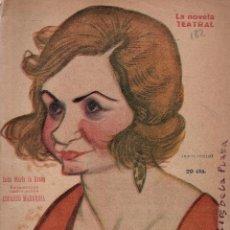 Libros antiguos: LA NOVELA TEATRAL. ANO V. 6 JUNIO 1920. DOÑA MARÍA LA BRAVA DE EDUARDO MARQUINA.. Lote 107689439
