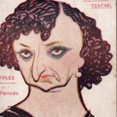 Libros antiguos: LA NOVELA TEATRAL. Nº 38. 2 SEPTIEMBRE 1917. RAFFLES ARREGLADA AL CASTELLANO POR GIL PARRADO. Lote 107689955