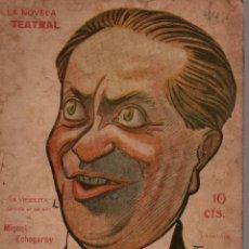 Libros antiguos: LA NOVELA TEATRAL. Nº 44. 14 OCT 1917. LA VIEJECITA DE MIGUEL ECHEGARAY.. Lote 107752415