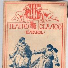 Libros antiguos: EL CAIN DE CATALUÑA. TEATRO CLASICO ESPAÑOL. DRAMA EN TRES JORNADAS DE FRANCISCO ROJAS ZORRILLA.. Lote 109339903