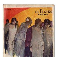 Libros antiguos: MARCELINO DOMINGO.– ENCADENADAS. DRAMA EN TRES ACTOS. EL TEATRO MODERNO, 1931. 1.ª EDICIÓN. Lote 109434827