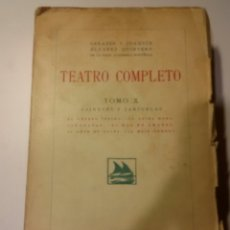 Libros antiguos: TEATRO COMPLETO, TOMO X. Lote 110952775
