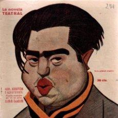 Libros antiguos: AGUA,AZUCARILLOS Y AGUARDIENTES.MIGUEL RAMOS CARRIÓN.LA NOVELA TEATRAL,1922.. Lote 111319239