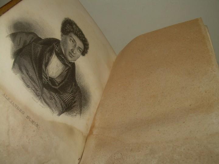 Libros antiguos: LIBRO TAPAS PIEL.....TEATRO DE ALEJANDRO DUMAS.....AÑO 1844..PRIMERA SERIE - Foto 2 - 111328839