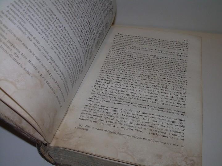 Libros antiguos: LIBRO TAPAS PIEL.....TEATRO DE ALEJANDRO DUMAS.....AÑO 1844..PRIMERA SERIE - Foto 4 - 111328839