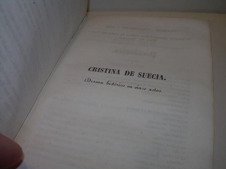 Libros antiguos: LIBRO TAPAS PIEL.....TEATRO DE ALEJANDRO DUMAS.....AÑO 1844..PRIMERA SERIE - Foto 7 - 111328839