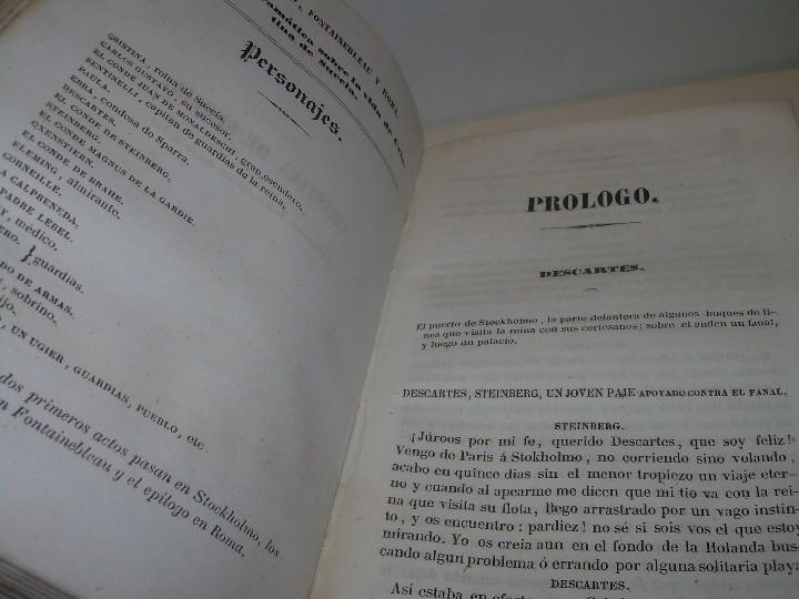 Libros antiguos: LIBRO TAPAS PIEL.....TEATRO DE ALEJANDRO DUMAS.....AÑO 1844..PRIMERA SERIE - Foto 8 - 111328839