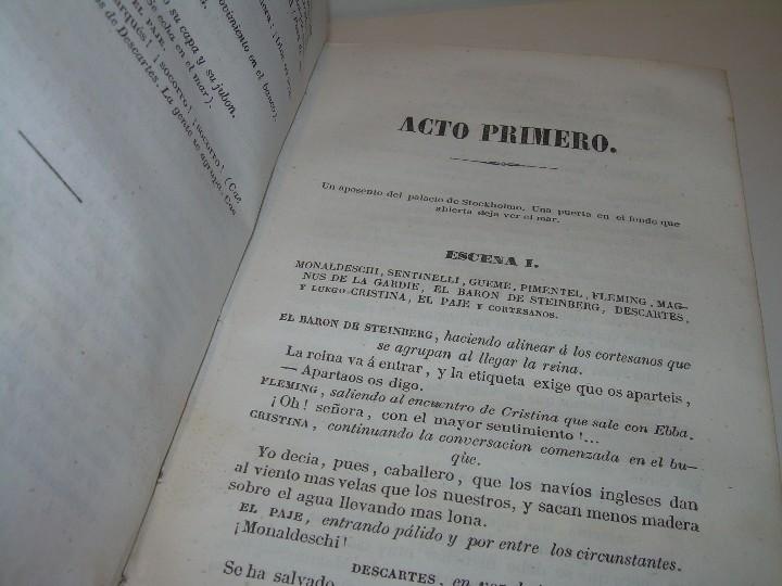 Libros antiguos: LIBRO TAPAS PIEL.....TEATRO DE ALEJANDRO DUMAS.....AÑO 1844..PRIMERA SERIE - Foto 9 - 111328839