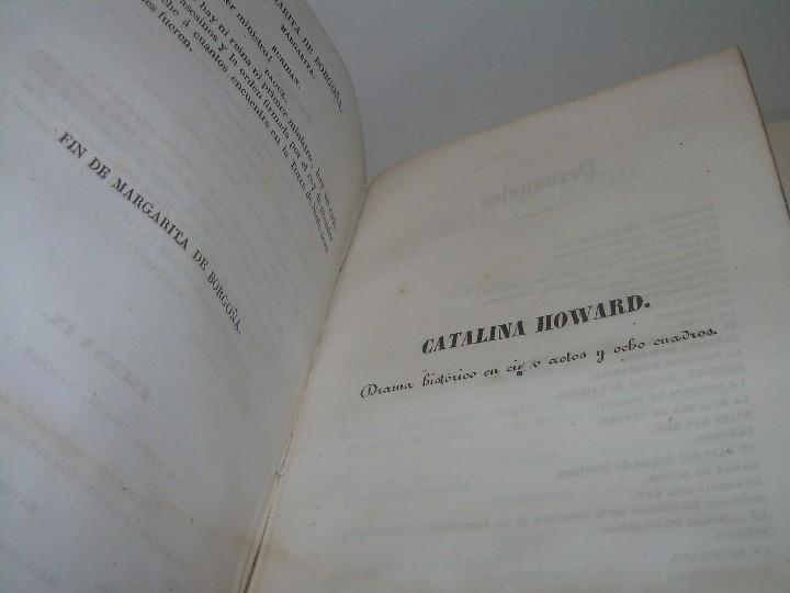 Libros antiguos: LIBRO TAPAS PIEL.....TEATRO DE ALEJANDRO DUMAS.....AÑO 1844..PRIMERA SERIE - Foto 12 - 111328839