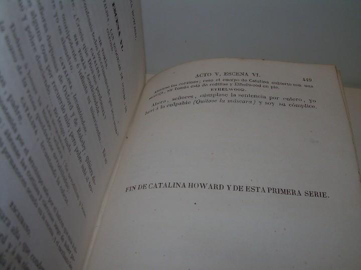 Libros antiguos: LIBRO TAPAS PIEL.....TEATRO DE ALEJANDRO DUMAS.....AÑO 1844..PRIMERA SERIE - Foto 13 - 111328839