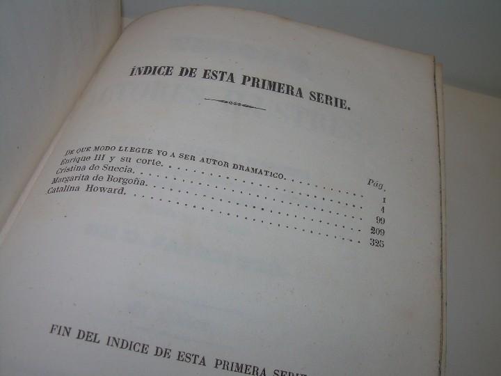 Libros antiguos: LIBRO TAPAS PIEL.....TEATRO DE ALEJANDRO DUMAS.....AÑO 1844..PRIMERA SERIE - Foto 14 - 111328839