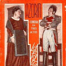 Libros antiguos: AZORÍN : LA GUERRILLA (LA FARSA, 1936). Lote 114270115
