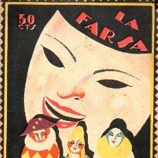 Libros antiguos: LUIS DE VARGAS : LOS LAGARTERANOS (LA FARSA, 1927). Lote 114270303