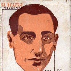 Libros antiguos: ANGEL CUSTODIO / JAVIER DE BURGOS : LA NOCHE VIEJA (EL TEATRO MODERNO, 1932). Lote 114272299