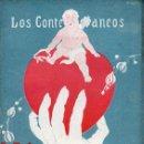 Libros antiguos: DE CASTRO Y LÓPEZ ALARCÓN : LAS MANOS LARGAS (LOS CONTEMPORÁNEOS, 1926). Lote 114409395