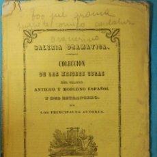 Libros antiguos: LIBRO - TEATRO - TOO JUÉ GROMA - JUGUETE CÓMICO ANDALUZ EN UN ACTO Y EN VERSO -DON EDUARDO ASQUERINO. Lote 114594511
