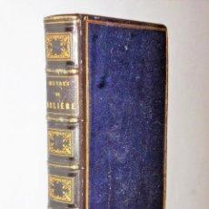 Libros antiguos: OEUVRES COMPLÈTES DE MOLIÈRE (1838). Lote 115283687