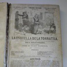 Libros antiguos: 17 PRIMEROS SINGLOTS POETICHS DE PITARRA , EDITADOS POR LLIBRERIA ESPANYOLA DE I. LOPAS 1864-65. Lote 115815271