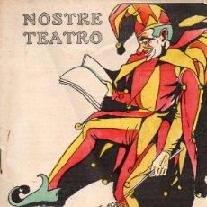 Libros antiguos: MANUEL SOTO LLUCH : ELS MATARILES (NOSTRE TEATRO, VALENCIA, 1921) . Lote 116229799