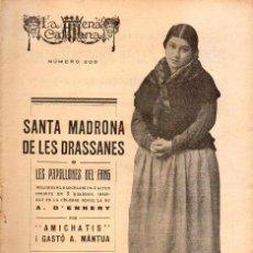 Libros antiguos: AMICHATIS I MANTUA : SANTA MADRONA DE LES DRASSANES (ESCENA CATALANA, 1926). Lote 117743931