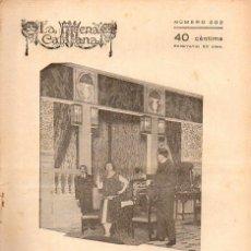 Libros antiguos: AMICHATIS : L' AMIGA, EL CAPRITXO I EL QUE PAGA (ESCENA CATALANA, 1926). Lote 117744295