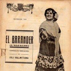 Libros antiguos: VALLMITJANA : EL BARANDER (ESCENA CATALANA, 1923). Lote 117744571
