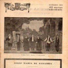 Libros antiguos: JOSEP Mª DE SAGARRA : FIDELITAT (ESCENA CATALANA, 1926). Lote 117745219
