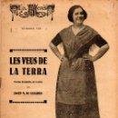 Libros antiguos: JOSEP Mª DE SAGARRA : LES VEUS DE LA TERRA (ESCENA CATALANA, 1925). Lote 117745327