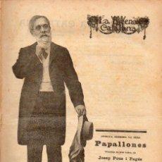 Libros antiguos: POUS I PAGÉS : PAPALLONES (ESCENA CATALANA, 1919). Lote 117745823