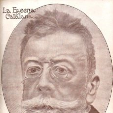 Libros antiguos: EXTRA DEDICAT A ANGEL GUIMERÀ (ESCENA CATALANA, 1926). Lote 117754043