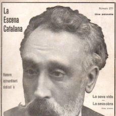 Libros antiguos: EXTRA DEDICAT A IGNASI IGLESIES (ESCENA CATALANA, 1928). Lote 117754319
