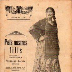 Libros antiguos: FRANCESC GARCIA GARCILIUS : PELS NOSTRES FILLS (ESCENA CATALANA, 1923). Lote 117755595