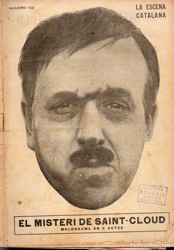 AMICHATIS, TRADUCTOR : EL MISTERI DE SAINT CLOUD O EL CRIM DEL PEGOT (ESCENA CATALANA, 1924) (Libros antiguos (hasta 1936), raros y curiosos - Literatura - Teatro)