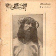 Libros antiguos: FIDEL GRIFOL : JESUCRIST, VIDA, PASSIÓ I MORT (ESCENA CATALANA, 1927). Lote 117757459