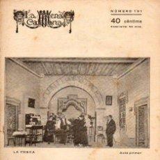Libros antiguos: FLORENCI CORNET : LA FOSCA (ESCENA CATALANA, 1925). Lote 117758059