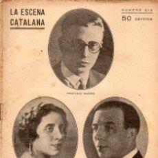 Libros antiguos: FRANCESC MADRID : EL MAL QUE POT FER UNA DONA (ESCENA CATALANA, 1927). Lote 117758303