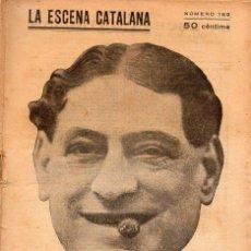 Libros antiguos: JOAQUIM MONTERO : L'ESPECTRE DEL SENYOR IMBERGER (ESCENA CATALANA, 1924). Lote 117759395
