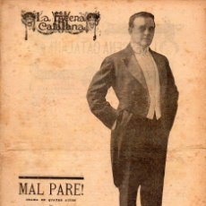 Libros antiguos: JOSEP ROCA I ROCA : MAL PARE (ESCENA CATALANA, 1918). Lote 117759967