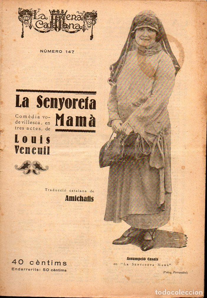 LOUIS VENEUIL / AMICHATIS : LA SENYORETA MAMÀ (ESCENA CATALANA, 1924) (Libros antiguos (hasta 1936), raros y curiosos - Literatura - Teatro)