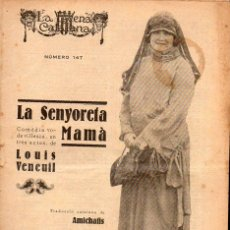 Libros antiguos: LOUIS VENEUIL / AMICHATIS : LA SENYORETA MAMÀ (ESCENA CATALANA, 1924). Lote 117760639