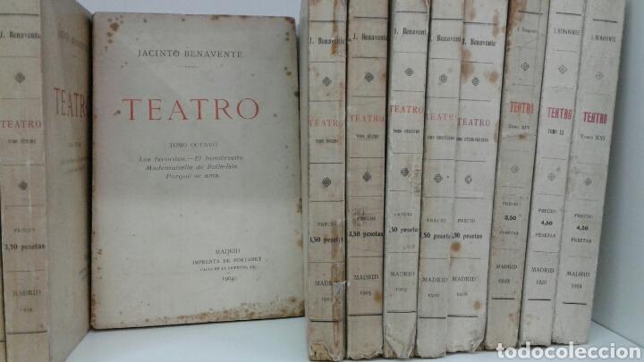 Libros antiguos: TEATRO JACINTO BENAVENTE 1904 A 1928 36 TOMOS 1922 VARIAS PRIMERAS EDICIONES EN ESTA COLECCION - Foto 7 - 117767672