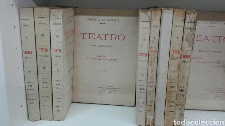 Libros antiguos: TEATRO JACINTO BENAVENTE 1904 A 1928 36 TOMOS 1922 VARIAS PRIMERAS EDICIONES EN ESTA COLECCION - Foto 8 - 117767672