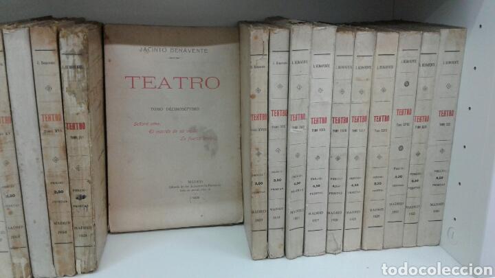 Libros antiguos: TEATRO JACINTO BENAVENTE 1904 A 1928 36 TOMOS 1922 VARIAS PRIMERAS EDICIONES EN ESTA COLECCION - Foto 9 - 117767672