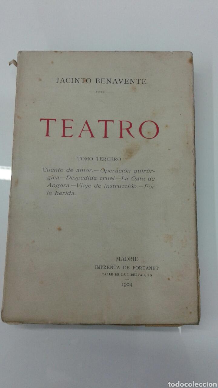 Libros antiguos: TEATRO JACINTO BENAVENTE 1904 A 1928 36 TOMOS 1922 VARIAS PRIMERAS EDICIONES EN ESTA COLECCION - Foto 10 - 117767672